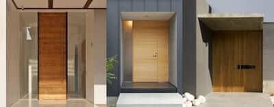 นวัคกรรมประตูบ้านแต่ละชนิด
