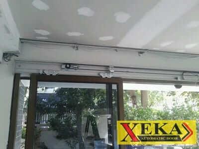 ติดตั้งประตูบานเลื่อนอัตโนมัติ XEKA@บ.สรวีย์ 1999
