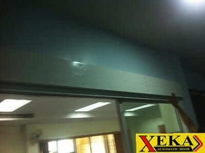 บริษัท ทัทซูโน่ฯ ติดตั้งรางประตูอัตโนมัติ XEKA