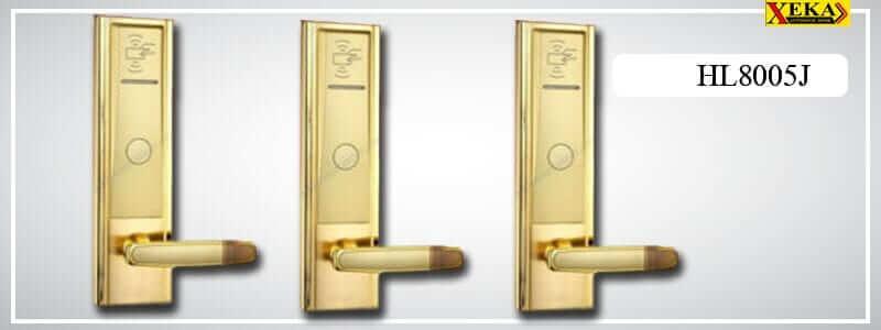 ชุดกลอนประตูคีย์การด์ห้องพัก โรงแรม Hotel Lock รุ่น : HL8005J