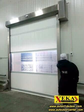 ประตูม้วน PVC @ อุตสาหกรรมทวีวงษ์