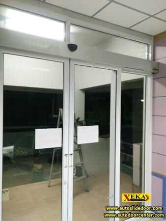 ประตูบานเลื่อนอัตโนมัติ @ การไฟฟ้าส่วนภูมิภาค อ.สีคิ้ว