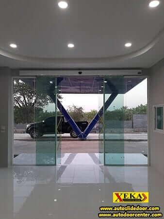 ระบบประตูเลื่อนอัตโนมัติ @ คลองหก ปทุมธานี