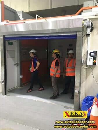 ประตู PVC @ บริษัทซีเนียร์ แอโรสเปซ (ไทยแลนด์) จำกัด