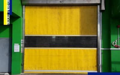 บริษัท เฟิรสท์แคนฟูด (ไทย) จำกัด ติดตั้ง ประตู PVC อัตโนมัติ